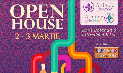 Weekend cu ateliere artistice la Open House