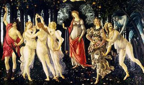 """Descifrand tablouri celebre: """"Primavera"""" de Sandro Botticelli"""
