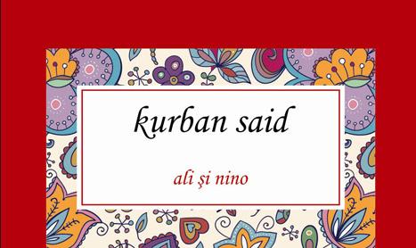 """Se lanseaza """"Ali si Nino"""", o nemuritoare poveste de dragoste"""