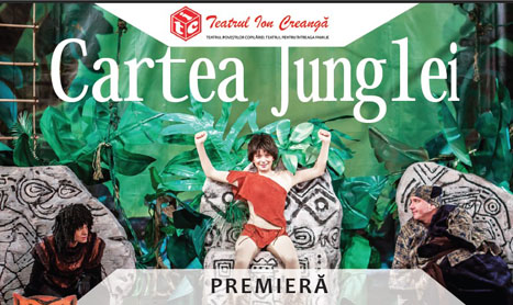 """""""Cartea junglei"""" se joaca in premiera la Teatrul """"Ion Creanga"""""""