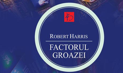 Un nou volum de Robert Harris a aparut la Editura ALLFA