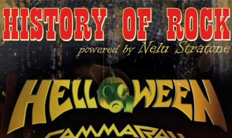 Helloween deschide serile de istorii rock & pop din Biker's