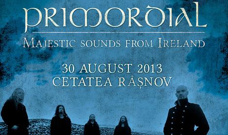 Primordial canta la Rockstadt Extreme Fest pe 30 august