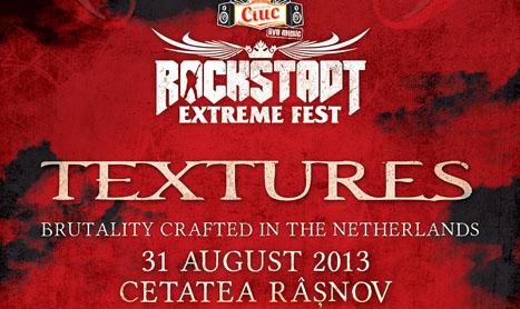 Textures se alatura line-up-ului de la Rockstadt Extreme Fest