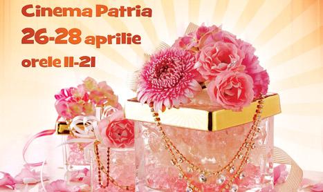 Floriile vin la Cinema Patria cu un targ de produse handmade