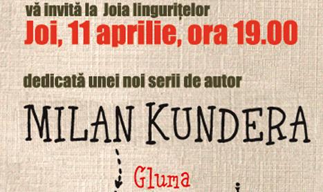 Milan Kundera este dezbatut la Joia linguritelor