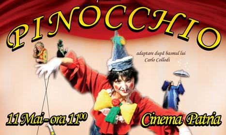 """""""Pinocchio"""" deschide stagiunea de teatru pentru copii de la Patria"""