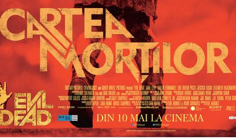 """""""Cartea mortilor"""" intra in cinematografe pe 10 mai"""