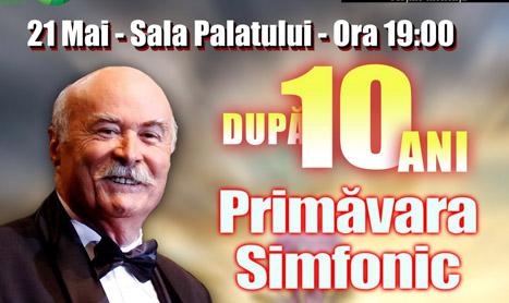 "Tudor Gheorghe aduce ""Primavara simfonic"""