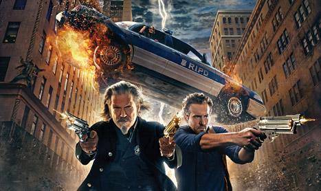 """Jeff Bridges si Ryan Reynolds sunt """"R.I.P.D. Copoi pentru strigoi"""""""