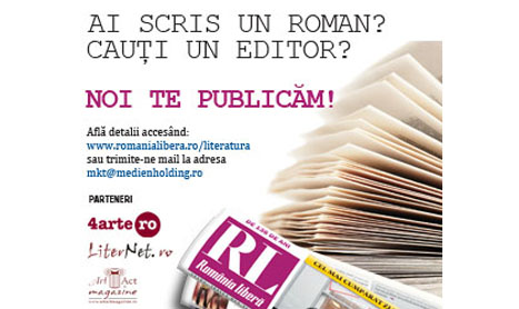 Vrei sa fii publicat? Intra in Literatura RLvanta!