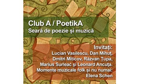 Redescoperiti farmecul poeziei la intalnirile PoetikA