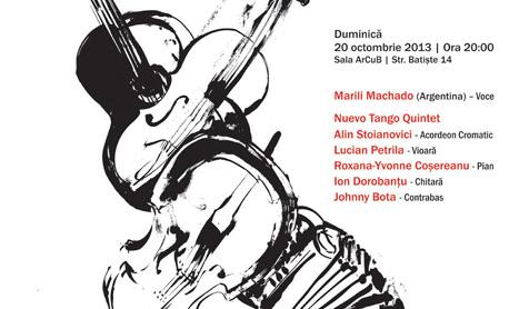 Nuevo Tango Quintet si Marili Machado aduc tangoul la ArCuB