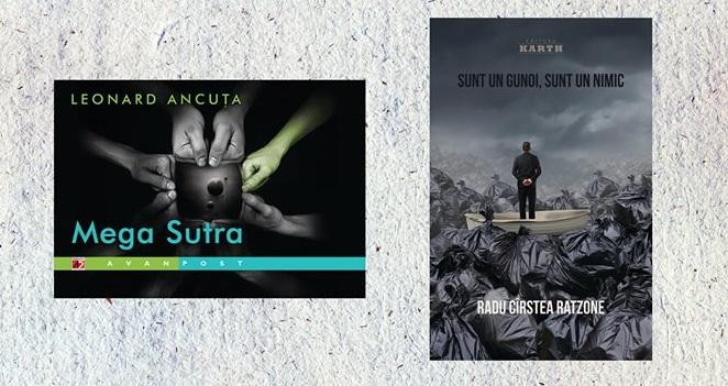 """Dubla lansare de carte in Club A: """"Mega Sutra"""" si """"Sunt un gunoi, sunt un nimic"""""""