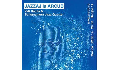 Blues cu jazz la ARCUB: Vali Racila si Balkanamera Jazz Quartet