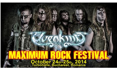 "Elvenking este prima trupa anuntata la ""Maximum Rock Festival"""