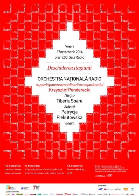 Orchestra Nationala Radio deschide stagiunea