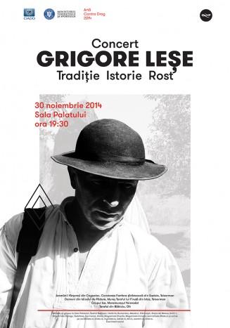 """""""Traditie Istorie Rost"""" cu Grigore Lese"""