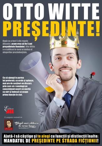Campania literara OTTO WITTE PRESEDINTE!