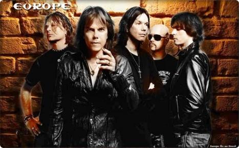 Concertul trupei EUROPE, reprogramat in iunie 2015