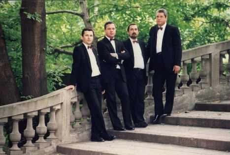 Cvartetul VOCES intr-un concert 100% HAYDN