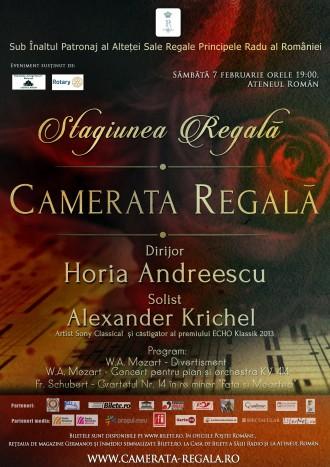 Horia Andreescu si Alexander Krichel in Stagiunea Regala