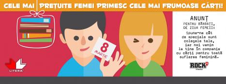 """""""File de primavara"""", 1 si 8 Martie alaturi de Editura Litera"""
