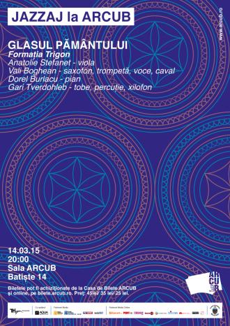 """""""Glasul Pamantului"""", concert JAZZAJ la ARCUB"""