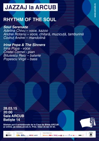 "JAZZAJ la ARCUB: Concert live ""Rhythm of the Soul"""