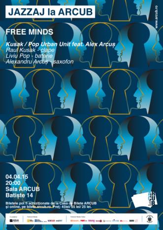 """""""Free Minds"""", un concert Jazzaj marca ARCUB"""