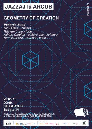 JAZZAJ LA ARCUB: Concert live Geometry of creation