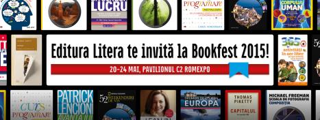 Editura Litera la BOOKFEST