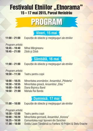 Festivalul ETNORAMA: diversitate culturala in Parcul Herastrau