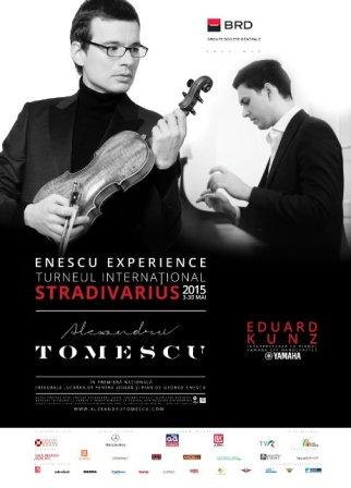 """TURNEUL INTERNATIONAL """"STRADIVARIUS – ENESCU EXPERIENCE"""" la SALA RADIO!"""