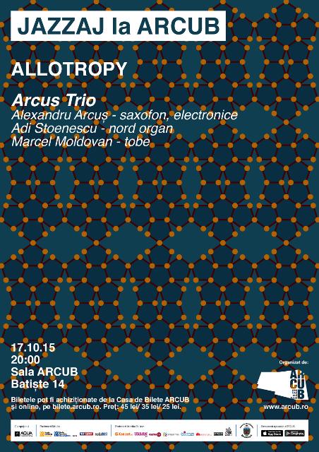 Traditie si inovatie intr-un nou concert JAZZAJ: Allotropy