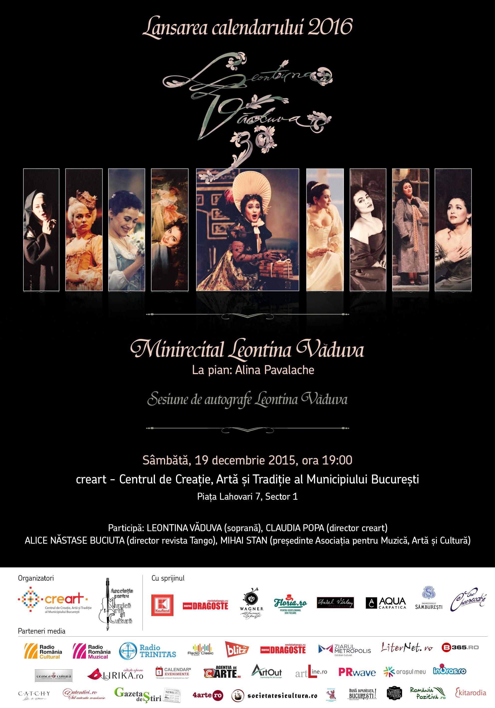 Lansarea calendarului 2016 LEONTINA VADUVA 30