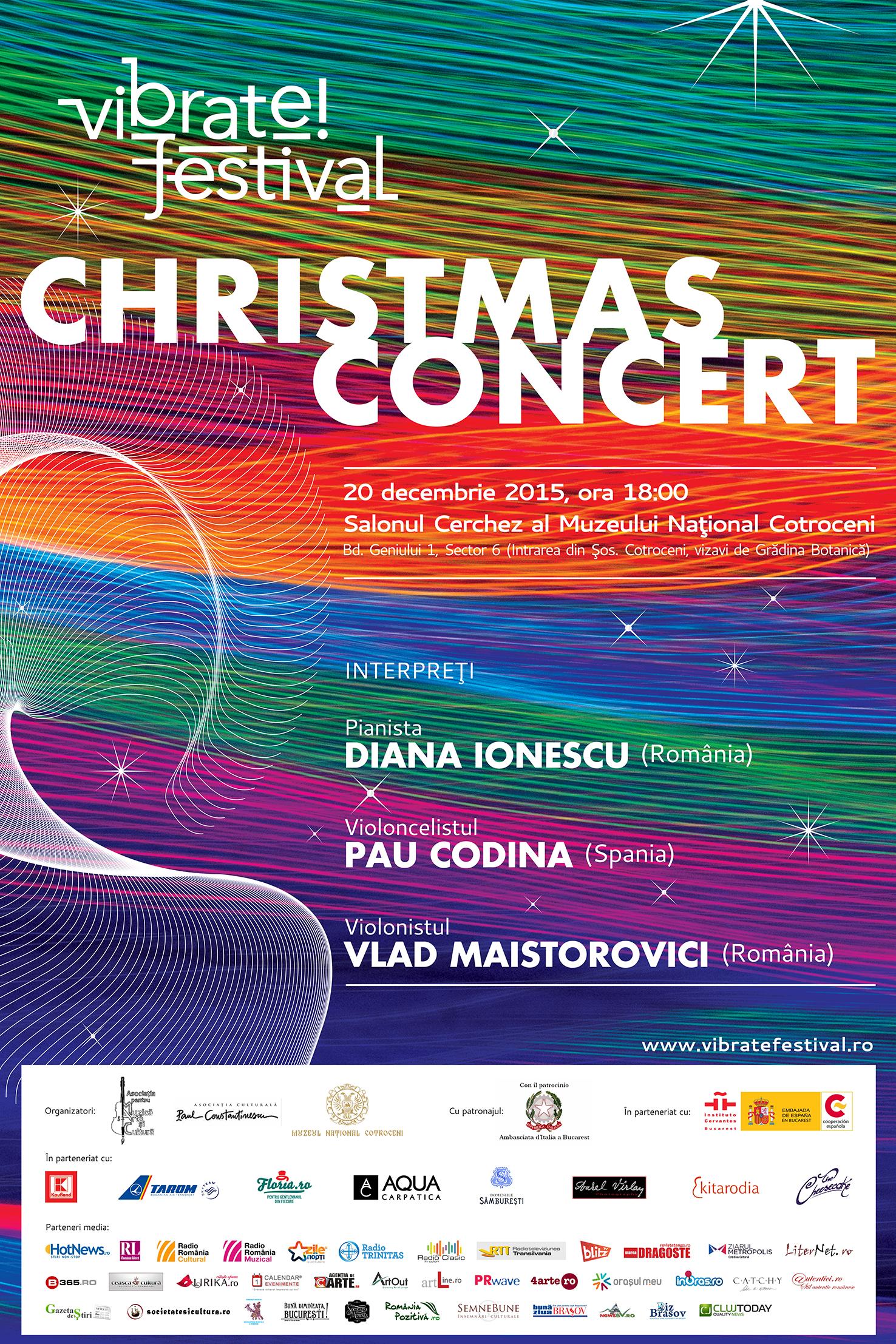 VIBRATE!FESTIVAL Christmas Concert
