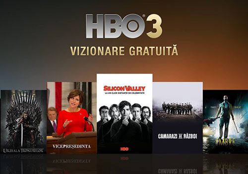 HBO 3 se vede fara abonament azi si maine