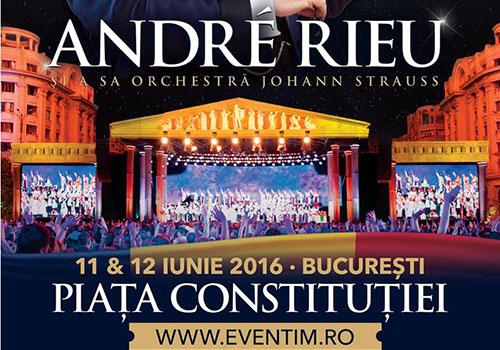 André Rieu anunta al doilea concert in iunie