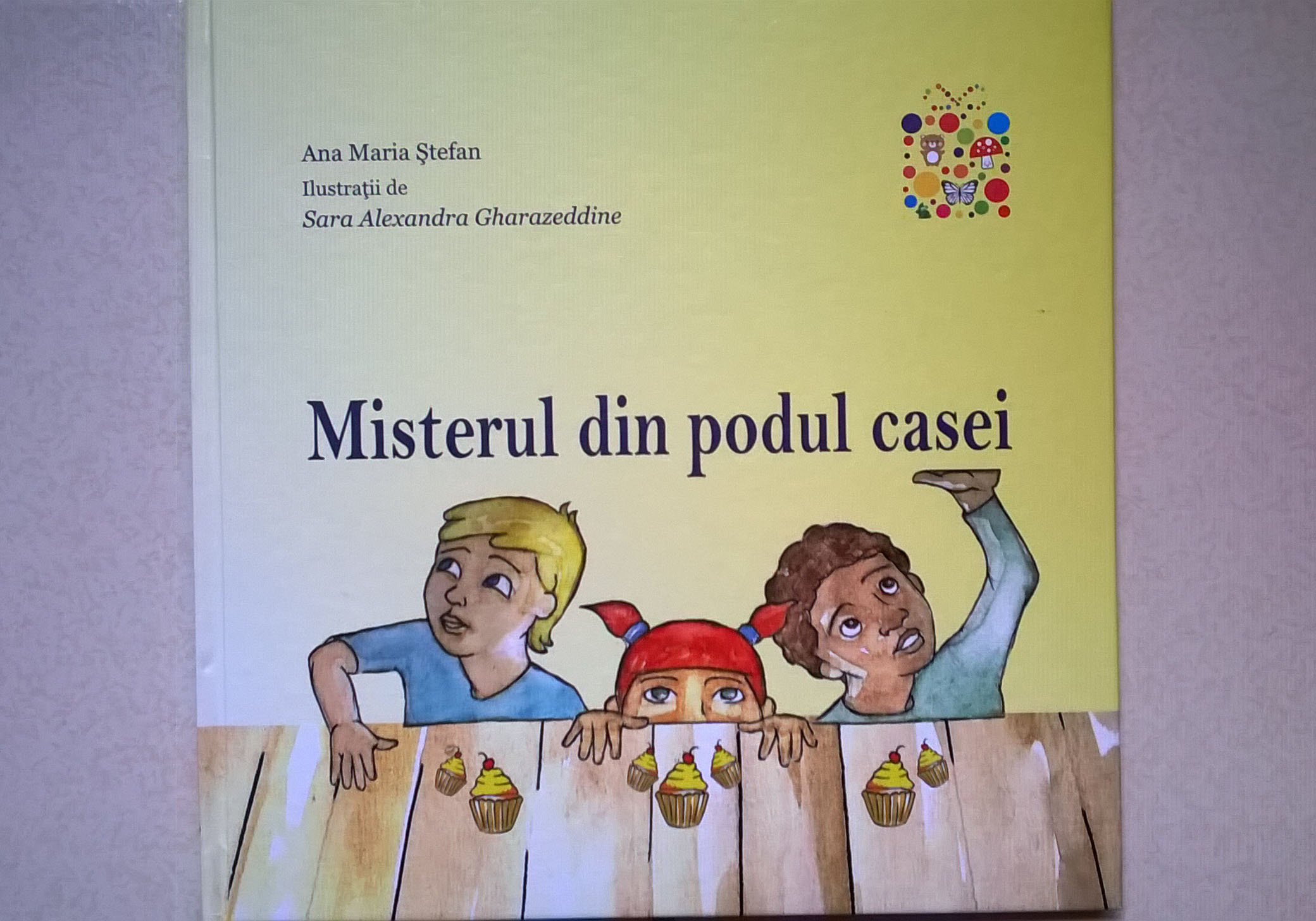 """Misterul din podul casei"", o aventura in tara dulciurilor"
