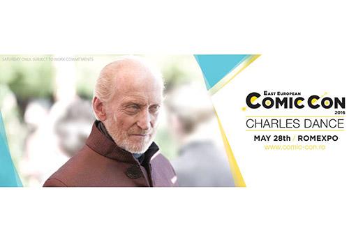 Master Tywin Lannister vine la East European Comic Con