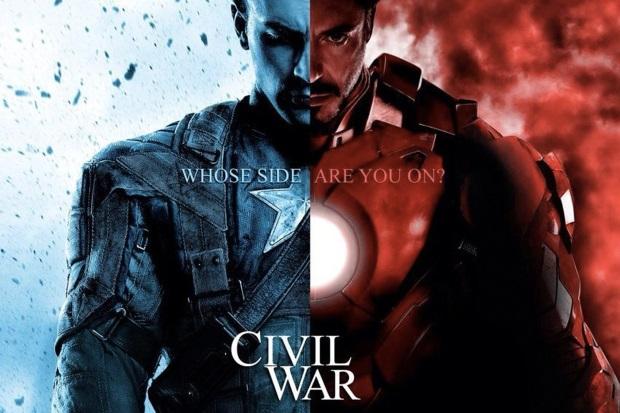 "Trailer ""Captain America: Razboi civil"""