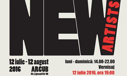 Expozitia New Artists se deschide pe 12 iulie