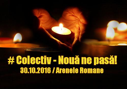 Concert caritabil: #Colectiv – Noua ne pasa