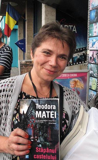 Teodora Matei. Foto: Quentin Bates