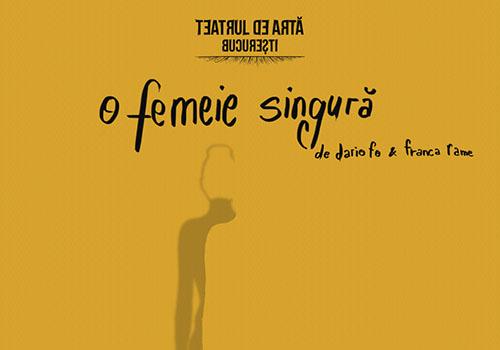 """O femeie singura"" va participa in toamna la FNT"