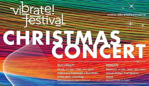 vibrate!festival va invita la concertul de Craciun