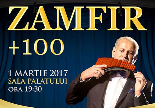 Concert de 1 martie: Zamfir + 100
