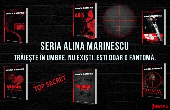 Librex Publishing lanseaza seria Alina Marinescu de Monica Ramirez