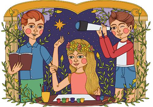 Ateliere pentru copii la Scoala de Arte si Maniere